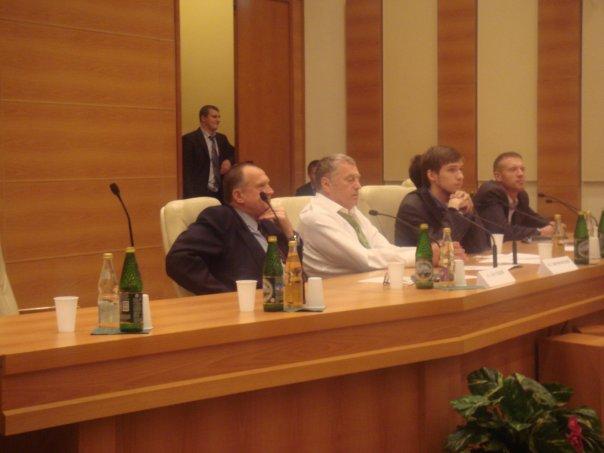 Алексей Казак на круглом столе в Госдуме РФ